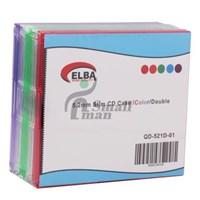ELBA QD-521D.01 2Lİ RENKLİ 5,2mm Slim CD Case