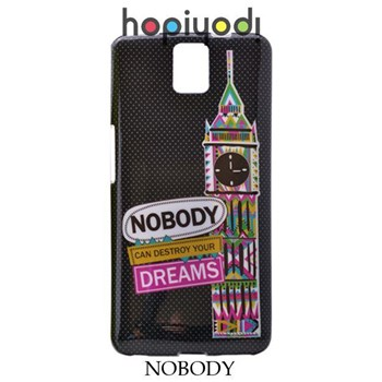 G.Mobile Discovery 2 Kılıf Silikon Nobody Desenli Kapak