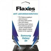 Flaxes FEK-S4 Galaxy S4 Kırılmaz Ekran Koruyucu