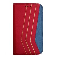 Color Case Galaxy S3 Mini Gizli Mıknatıslı Kılıf Kırmızı MGSGMUVY289