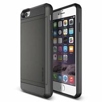 Verus iPhone 6/6S 4.7 Case Damda Slide Series Kılıf - Renk : Dark Silver