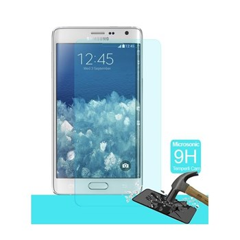 Microsonic Temperli Cam Ekran Koruyucu Samsung Galaxy Note Edge Film
