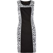 Bpc Selection Zebra Desenli Elbise Siyah 31279062