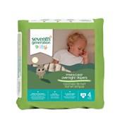 Seventh Generation Bebek Bezi 4 Gece Boyu 10kg ve üstü 24 Adet