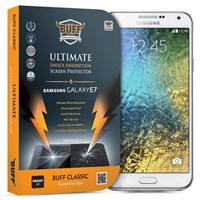 BUFF Samsung Galaxy E7 Darbe Emici Ekran Koruyucu Film