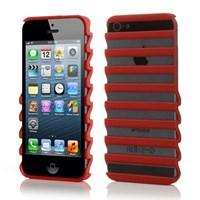 Microsonic Pulse Shape Case Kılıf Iphone 5 & 5s Kırmızı