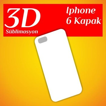 3D Süblimasyon iphone 6 Kapak