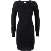 Bpc Bonprix Collection Örgü Elbise - Siyah 31462545