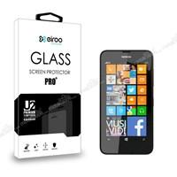 Eiroo Nokia Lumia 630 Tempered Glass Cam Ekran Koruyucu