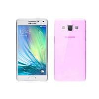 Microsonic Transparent Soft Samsung Galaxy A3 Kılıf Pembe