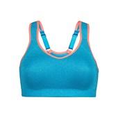 Bonprix Sırtı Yüzücü Kesimli Spor Sütyeni Level 2, E Cup - Mavi 32728382