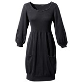 BODYFLIRT Örgü elbise - Siyah 92921995 4894025181983