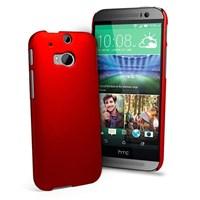 Microsonic Premium Slim HTC One M8 Kırmızı Kılıf
