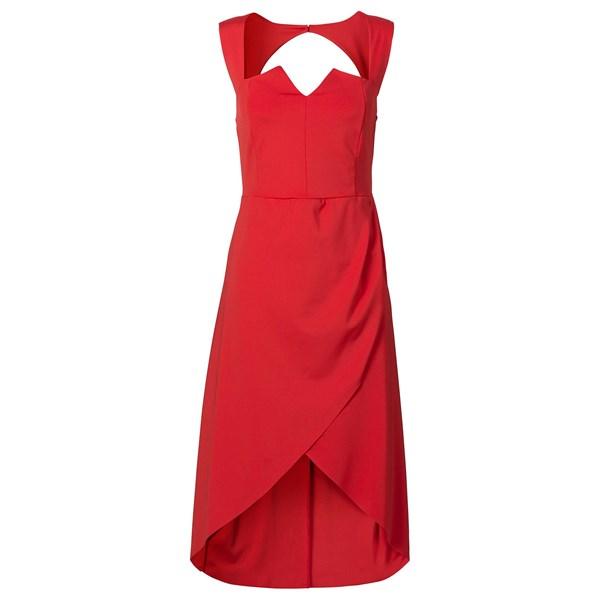 BODYFLIRT Büstiyer elbise - Kırmızı 32307880
