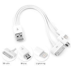 Adıga Araç Şarjı+Ev Şarj+ Iphone 5/4 +Samsung Kablo