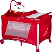 Baby2go 8433 Paradise Oyun Parkı & Park Yatak Lüx Kırmızı (70x110 Cm)