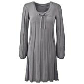 BODYFLIRT Örgü elbise - Gri 97749695 4894025171540