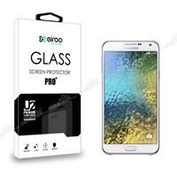 Eiroo Samsung Galaxy E5 Tempered Glass Cam Ekran Koruyucu