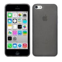 Soft TPU iPhone 5C Slikon Siyah Kılıf MGSLMQSDKM4