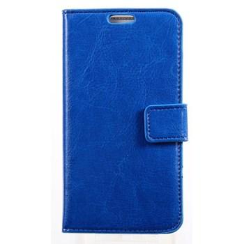 xPhone HTC One M9 Cüzdanlı Kılıf Mavi MGSEMPRTUYZ