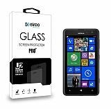 Eiroo Nokia Lumia 625 Tempered Glass Cam Ekran Koruyucu