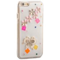 IP-646 Desenli Taşlı iPhone 6 4.7 Koruyucu Kılıf