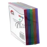 ELBA QD-521.03B 1Lİ RENKLİ 5,2mm Slim CD Case