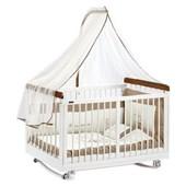 Baby Tech Beyaz Kelebekler 60X120 Ahşap Beşik Beyaz 30166146