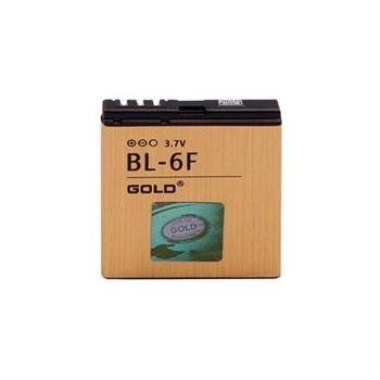 NOKIA BL-6F Gold Bower Original Batarya
