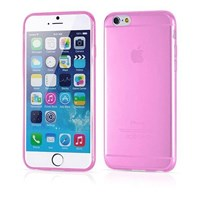 Soft TPU iPhone 6 Plus Ultra Slim Silikon Kılıf Pembe MGSACFPQSW3