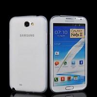 Microsonic 0.2mm Ultra Ince Kılıf Samsung Galaxy Note 2 N7100 Beyaz