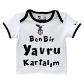 Beşiktaş Lisanslı T-Shirt Beyaz Yavru Kartal - 21901955