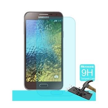 Microsonic Temperli Cam Ekran Koruyucu Samsung Galaxy E5 Film
