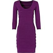 Bodyflirt Örgü Elbise - Lila 33069502