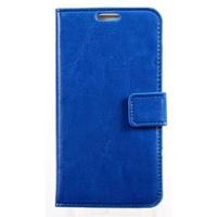 xPhone Galaxy A3 Cüzdanlı Kılıf Mavi MGSDJKNUX48