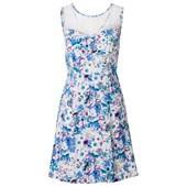 BODYFLIRT Çiçekli elbise - Mavi 24201230