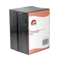 ELBA QD-321.14A 2Lİ SİYAH 14mm DVD Case,