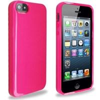 Microsonic Glossy Soft Kılıf Iphone 5s Pembe