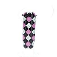 Earloomz Bluetooth Kulaklık (Pink & Squares)