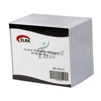 ELBA QD-524.01 1Lİ ŞEFFAF 10.4mm CD Jewel Case