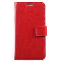 xPhone HTC Desire 300 Cüzdanlı Kırmızı Kılıf MGSDQRDHJKU