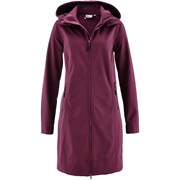 bpc bonprix collection Streç softshell mont - Lila 26610955