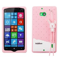 Fabitoo Nokia Lumia 930 Candy Kılıf Pembe