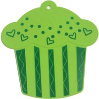 Burak Cup Cake Desenli Silikon Nihale Yeşil 29353903