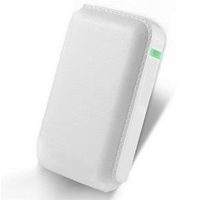 Hi-Level Mobil Batarya 7200 MAh Deri Beyaz HLV-PB-01B
