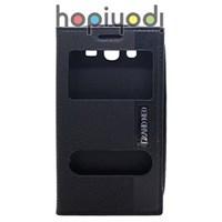 Samsung Galaxy Grand Neo Kılıf Rugged Çift Pencereli Siyah
