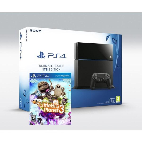Sony PS4 1 TB + Little Big Planet 3 + Ps4 Kulaklık + HDMI Kablo