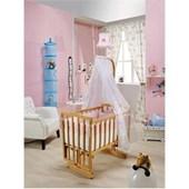 Bebedecor Angel Beşik Naturel Mobilya / Pembe Tekstil 30926662