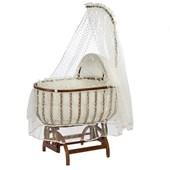 Baby Tech 121 Saraylı Fantezi Ahşap Bebek Beşiği Ceviz 24846665