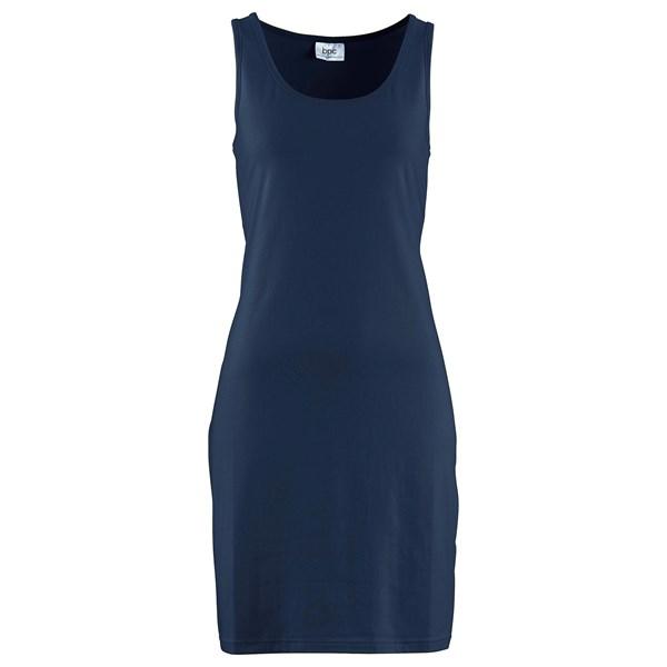 bpc bonprix collection Streç penye elbise - Mavi 93870395 17513333